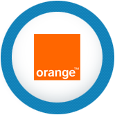 partner logo orange
